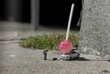 micro people; in a BIG world ! / smaller than tiny/ diorama sized / by Kay Matthews