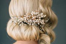 S&L | Diadem Styling / Diadem Frisuren, Brautfrisuren, Diadem hairstyle, Haar Trends, Inspiration