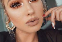S&L |  Make up Inspiration für die Braut, Make up for Bride / Make up, bride, wedding, schminke, inspiration, red lipstick, lippenstift, augenbrauen, augen, bridal