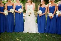 Blue wedding ideas / Tradition has never been more big day-friendly
