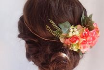 Inspirations: flower crowns & Hairpieces / by Rose of Sharon Floral Designs