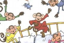 Lil' Monkeys Jumpin' on the BED... / by ❃✿❀ Sherry ❀✿❃