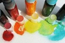 - craft recipes / paint, clay, putty, etc.