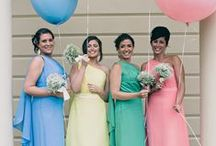Wedding Ideas: Sorbet shades / Sugary sweet ideas to add a splash of colour to your day.