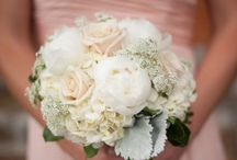 Bridesmaids + Bouquets / Photos of bridesmaids with bouquets. A great way to see how colors and styles work (or don't work) together. / by Rose of Sharon Floral Designs