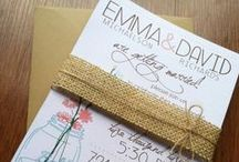 Inspired invitations / The most inviting of invitations.