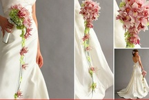 Inspirations: cascading bouquets / by Rose of Sharon Floral Designs, Althea Wiles