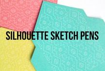 Silhouette Sketch Pens / A collection of Sketch Pen projects, ideas, crafts, tutorials and more using your Silhouette machine!