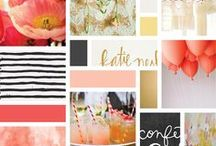 BLOG INSPIRATION / colors and design elements that jump out and slap me in the face! :)