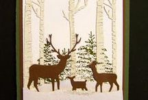 Christmas and Snow cards / Favorite cards I've found online and cards/projects I've made
