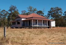 Eight Acres: Second-hand house / Moving an old queenslander house onto our property