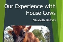 Keeping a house cow (or goat) / Information about house cows (family cows) and goat ownership.  Find out more in my house cow ebook https://linktr.ee/eight_acres_liz