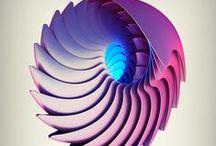 3Dimensions / Proclamare che nell'intersecazione dei piani di un libro con gli angoli d'una tavola, nelle rette di un fiammifero, nel telaio di una finestra, v'è più verità che in tutti i grovigli di muscoli, in tutti i seni e in tutte le natiche di eroi o di veneri che ispirano la moderna idiozia scultoria - Umberto Boccioni