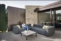 Inspirations: CALMA / CALMA, one of Spain's leading brands in outdoor furniture,  offers different ranges of stylish outdoor lounging furniture to create perfect comfy outdoor hangouts More info at: www.calma.cat / by Mueble de España