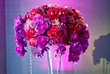 Wedding theme: Dramatic! / It's all about making a statement.