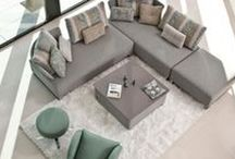 Sofas & armchairs / Lounging in comfort and style with the best brands of Spain... / by Mueble de España