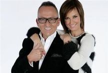 Cristina & Goucha / Favorite portuguese tv Hosts.