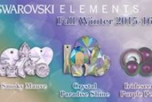 New Swarovski Innovations! / Direct wholesaler and importer of Swarovski crystals, Czech glass beads, seed beads, rhinestones and much more. Pinterest fans receive 10% OFF your next order by using coupon code: PIN10. (cannot be combined with any other discounts). www.harmanbeads.com