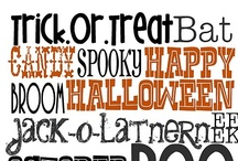 Halloween Printables & Templates / Think of all the fun things you can make with these! / by Katherine Geary