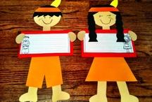 Thanksgiving Teaching Ideas / by Jana O'Neill
