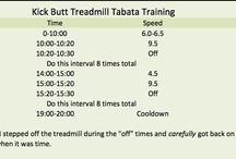 Treadmill Workouts / Workouts that are done on the treadmill