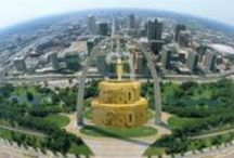 St. Louis Turns 250 in 2014 / Celebrate the 250th anniversary of St. Louis with history, articles, cake & celebrations all year long!