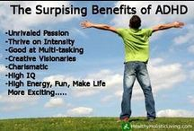 ADHD / Resources for the Attention Deficit (Hyperactivity) Disorder Family (that's us!!)