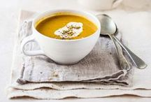 Chilis + Soups / Chili, soup and stew recipes to warm your bones.