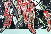 Art( Printmaking) / Hand pulled original prints
