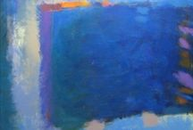 Art( Blue) / I have a great love of the colour in all it's forms.