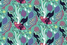 """Pin Worthy"" Patterns / Interesting patterns and surface designs created by artists  for fabric, products and crafting etc."