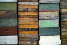 Rust/decay/erosion/wear.