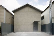ARCH | MICRO INFILL / narrow houses, houses in small lots / by R M architect®