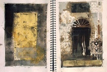 Art Journals / Self expression and creative play ...artists experimenting  / by Jane Young