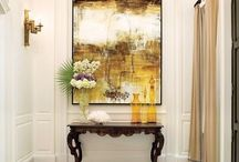 Art at Home / Art placement in the home,art as a focal point