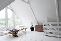 INTERIORS | ATTIC I / below the roof, you can touch the sky / by R M architect®