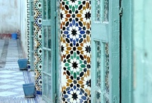 Moroccan obsession /  All things Moroccan, architecture, home decor, patterns, tiles, textiles and interiors and more.