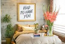 Home Decor Inspiration / A collection of trends to inspire decor elements for your home sweet home!
