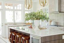 interiors {kitchens}