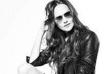 Rocker Chic / Leather Moto Jackets. Distressed Boyfriend Jeans and Studs. Lots of Studs. / by Fashion Project