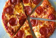Pizza Party! / Applegate Naturals Mini Pepperoni are here! To celebrate we teamed up with our friends at King Arthur Flour to throw a mini pepperoni pizza party – perfect for the mini people in your life and grown-ups as well. We hope this board inspires you to get in the kitchen and make your own mini pizza with real ingredients that are tasty and fresh!  / by Applegate