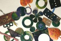 Gelli ideas and tutorials / Using a Gelli Plate for prints/mixed media artworks