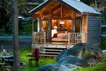 Tiny Homes/Cabins / The joys of living in smaller spaces