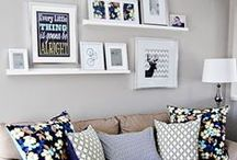 Small Space Living / Just because space is limited doesn't mean you can't have a wonderful place!
