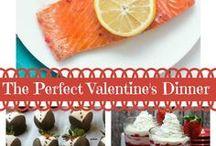 Valentine's / Valentine's Day Recipes | Valentine's Day Crafts | Valentine's Day Menu | Romantic Dinner | Valentine's Day Desserts | Hearts | Love | Lovers