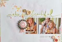 Scrapbook Ideas / by Jen Johnson