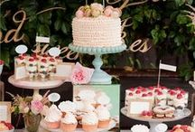 Candy and Dessert Table / Inspiration for perfect dessert tables. / by Aisle Perfect - Weddings