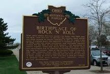 My love affair with Cleveland & Ohio / Cleveland is really a giant melting pot - not only is my family a melting pot, but so is the city. Michael Symon////////////////  Home of Rock and Roll! / by Sandy Zarzour Gest