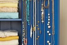 Jewelry Storage (Think out of the box) / by HouseOrganized