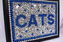 Catsy / Just some DIY for the crafty cats out there! Blue and White and all Kentucky themed, Go Cats!  *Pins of products for sale are not meant as university endorsements of items.  / by University of Kentucky